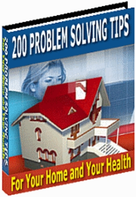 Product picture # 200 problem solving tips for your home and health